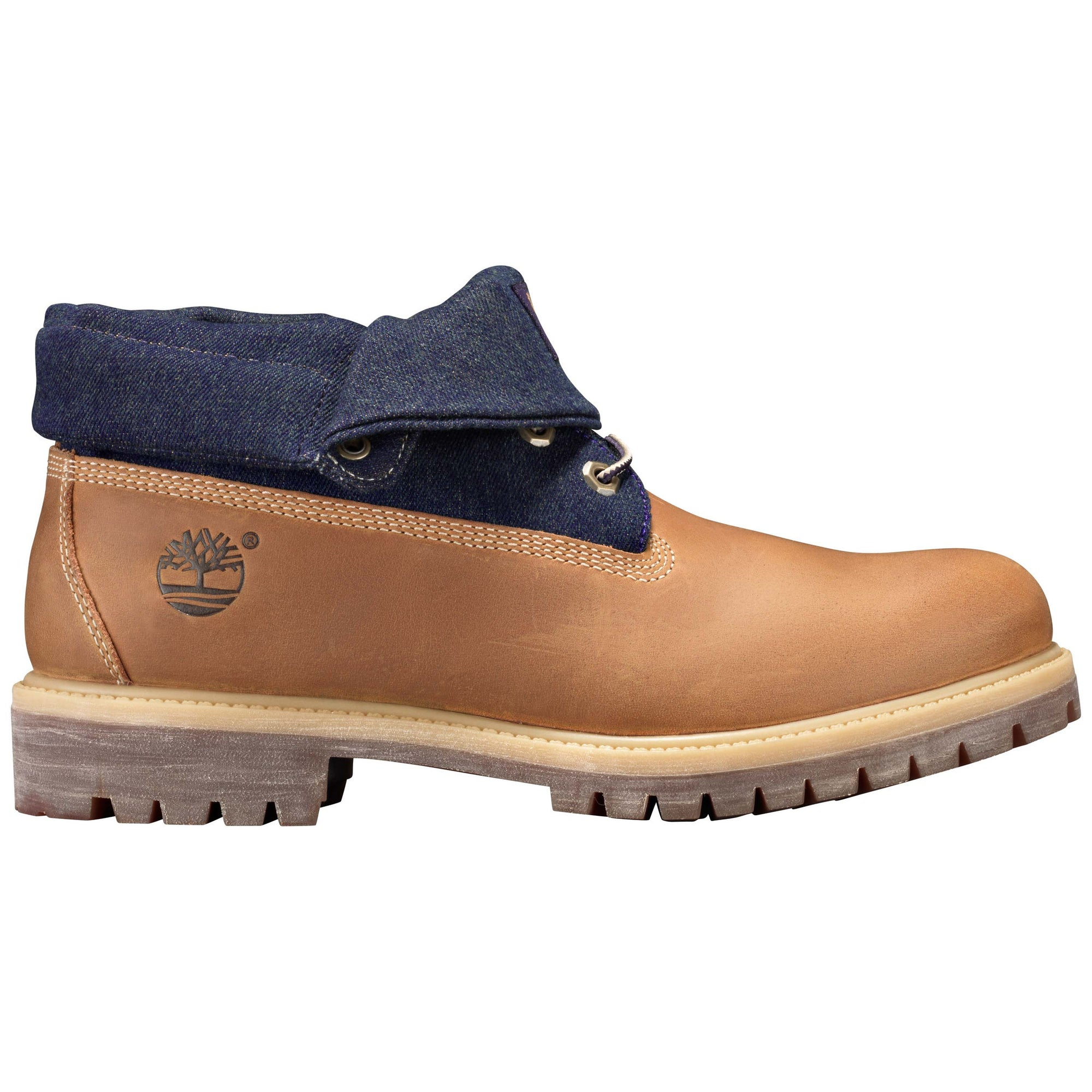 188ddc6fed4 Timberland Icon Roll Top Fabric Premium Mens Boot (Wheat) limited