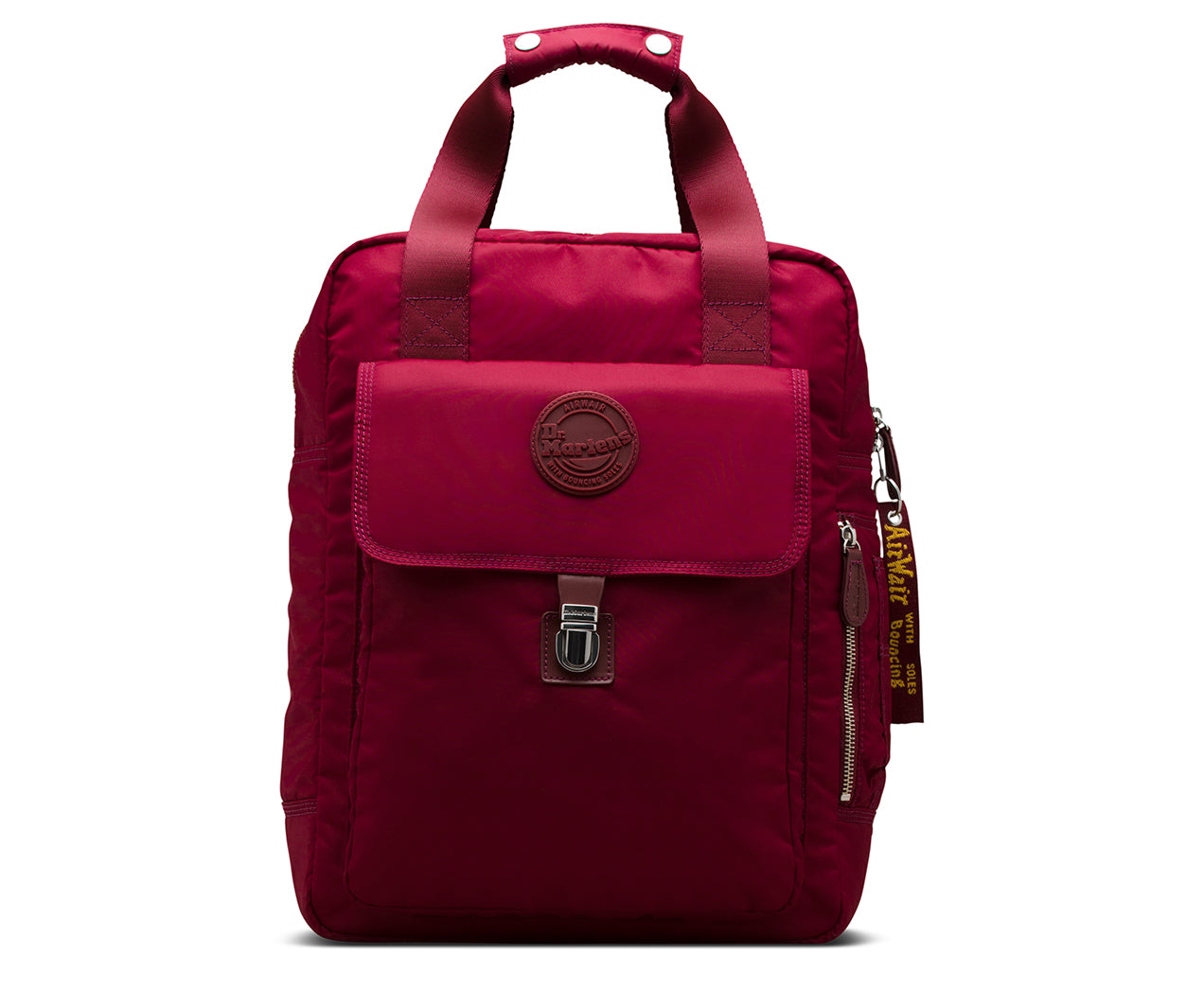 87897fa47b6f Dr Martens cherry red large nylon backpack one size - Top brand shoes