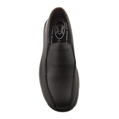 8dd6b307c9e Redback Black Waiter Chef Shoes Water Oil Repellent Leather Slip On Work  RCBN