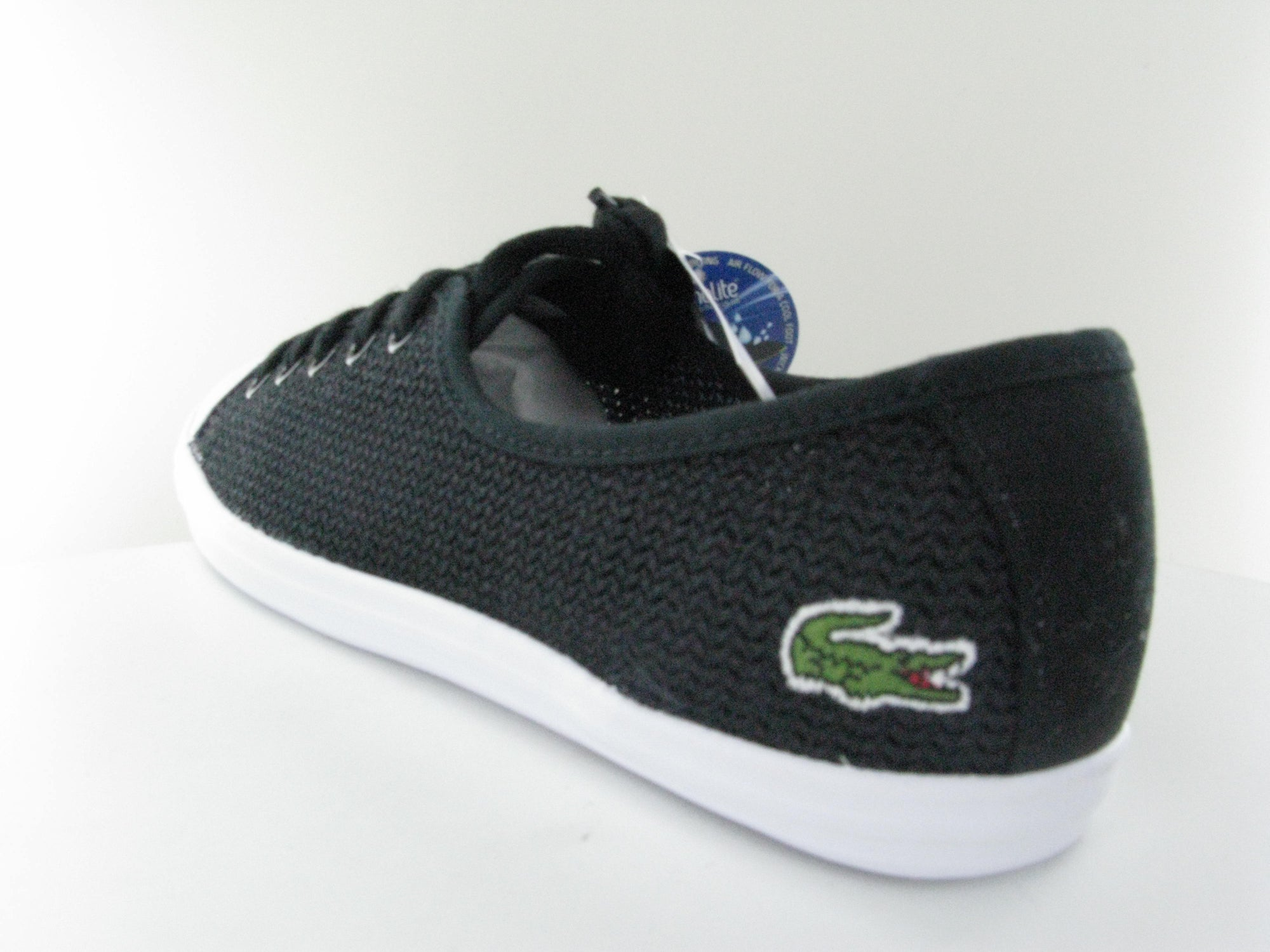 9f814866e Lacoste Womens Ziane Chunky 217 1 CAW Women Trainers in Black Casual  Sneakers
