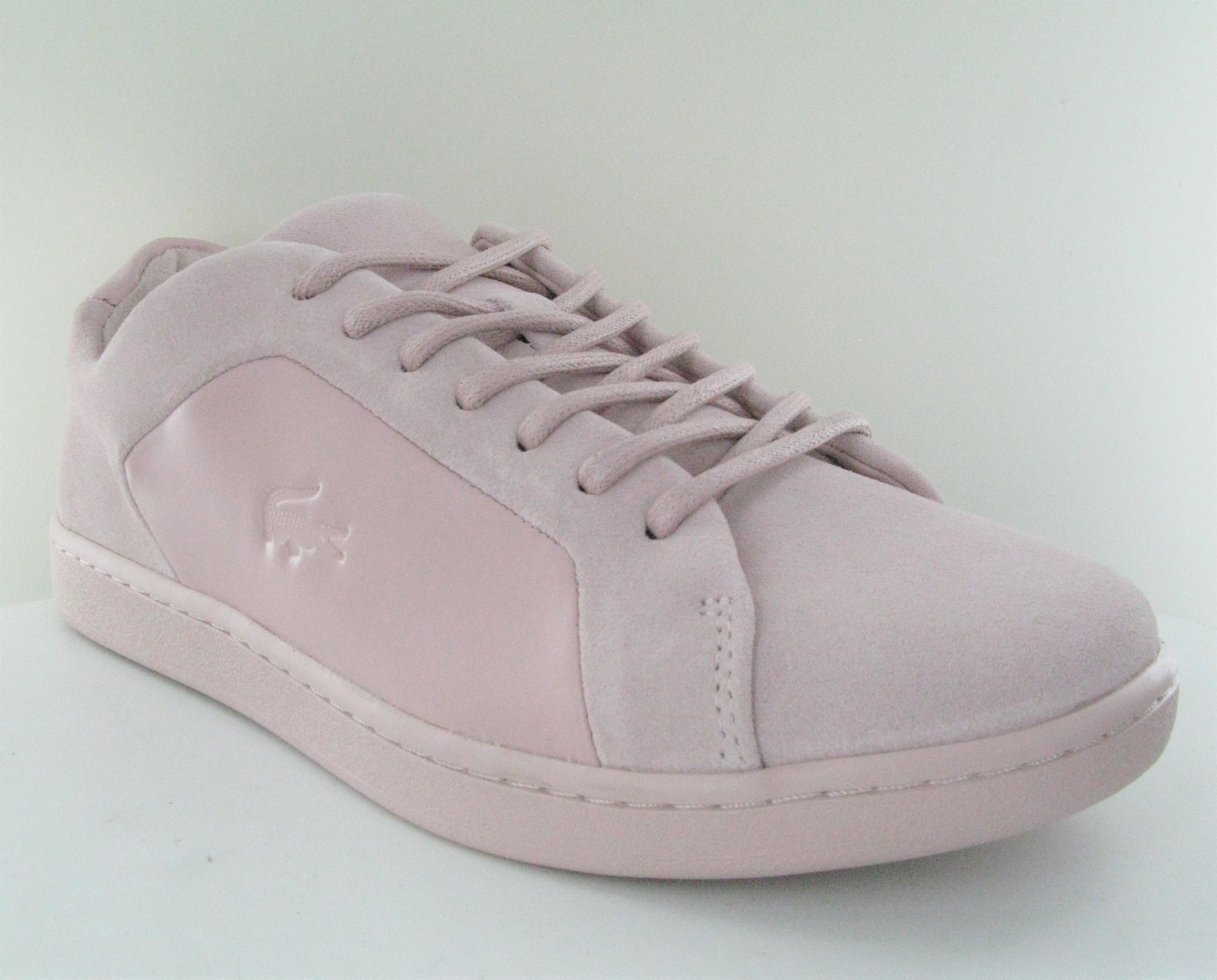 c0496b08b Lacoste Women WOMEN S CARNABY EVO 118 2 light pink Trainers 735SPW0051 -  Top brand shoes