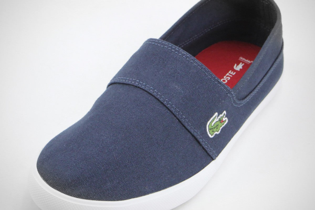 8698bd18e98d43 Lacoste Men s Marice BL 2 CAM 7-33CAM1071DB4 Men Navy Slip On Sneakers -  Top brand shoes