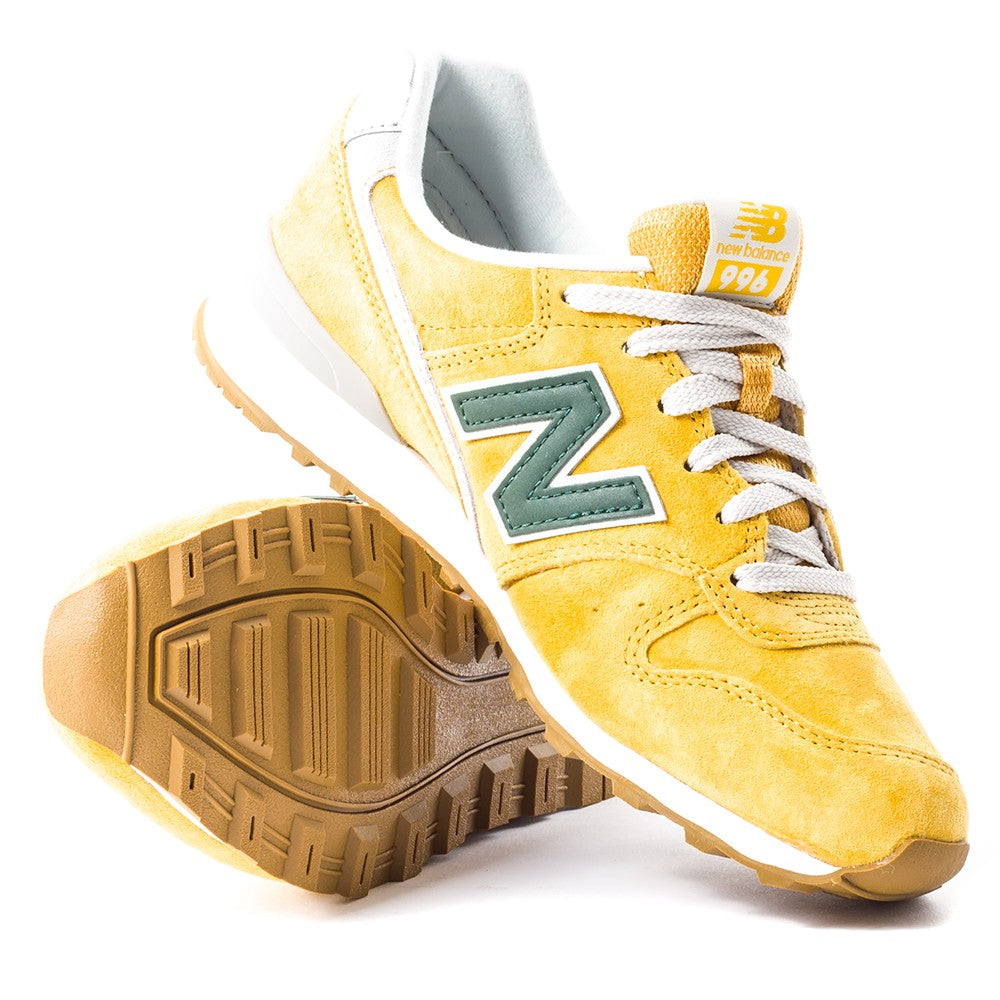 innovative design a0c46 03b45 New Balance Womens WR 996 LB Redwood Trainers in Yellow D C1