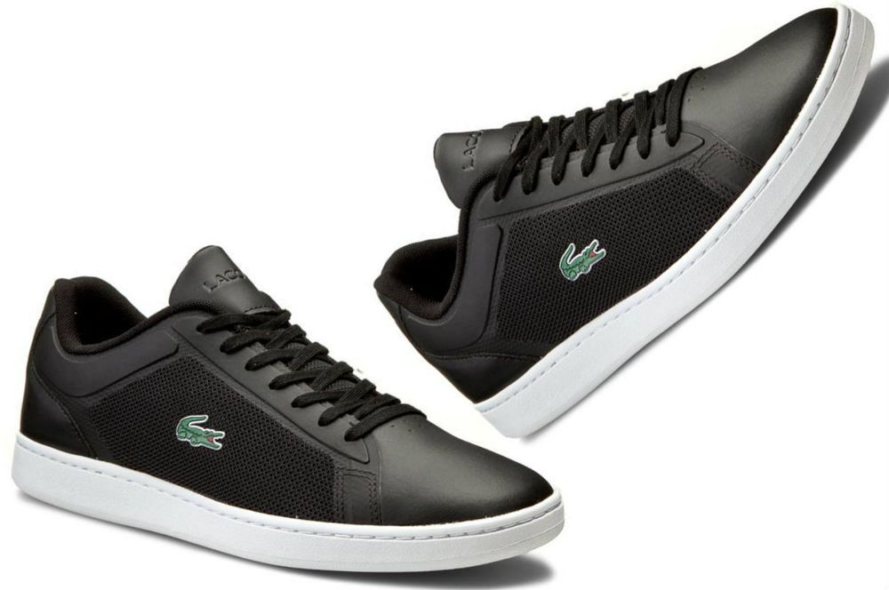 c1a5fb79cdae77 Lacoste Men s Endliner 116 2 SPM BLK Black Sneakers - Top brand shoes