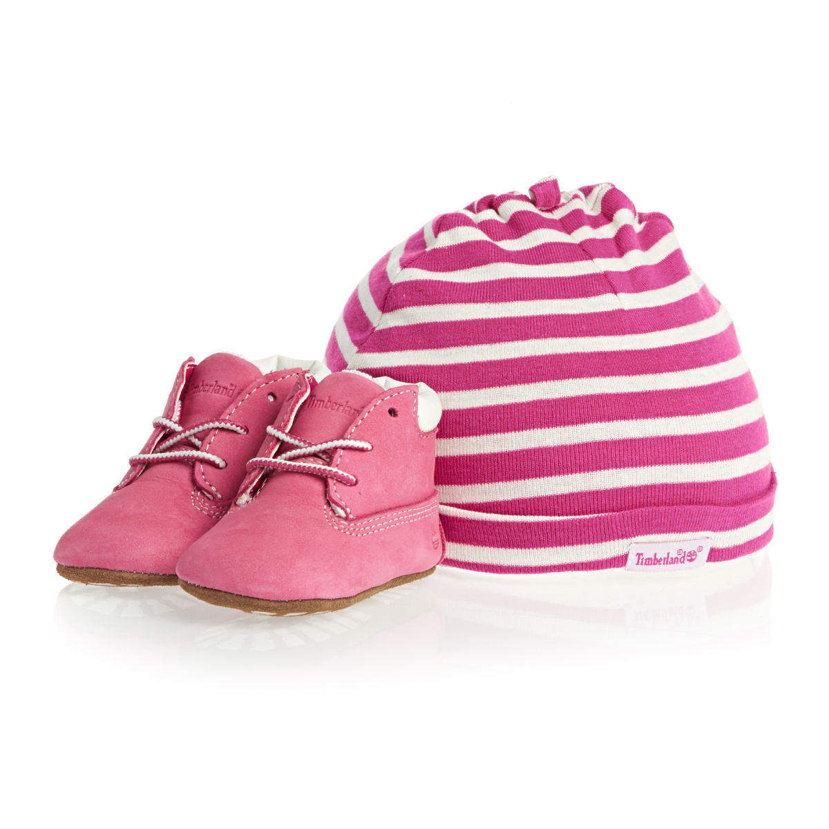 infant baby pink timberland boots