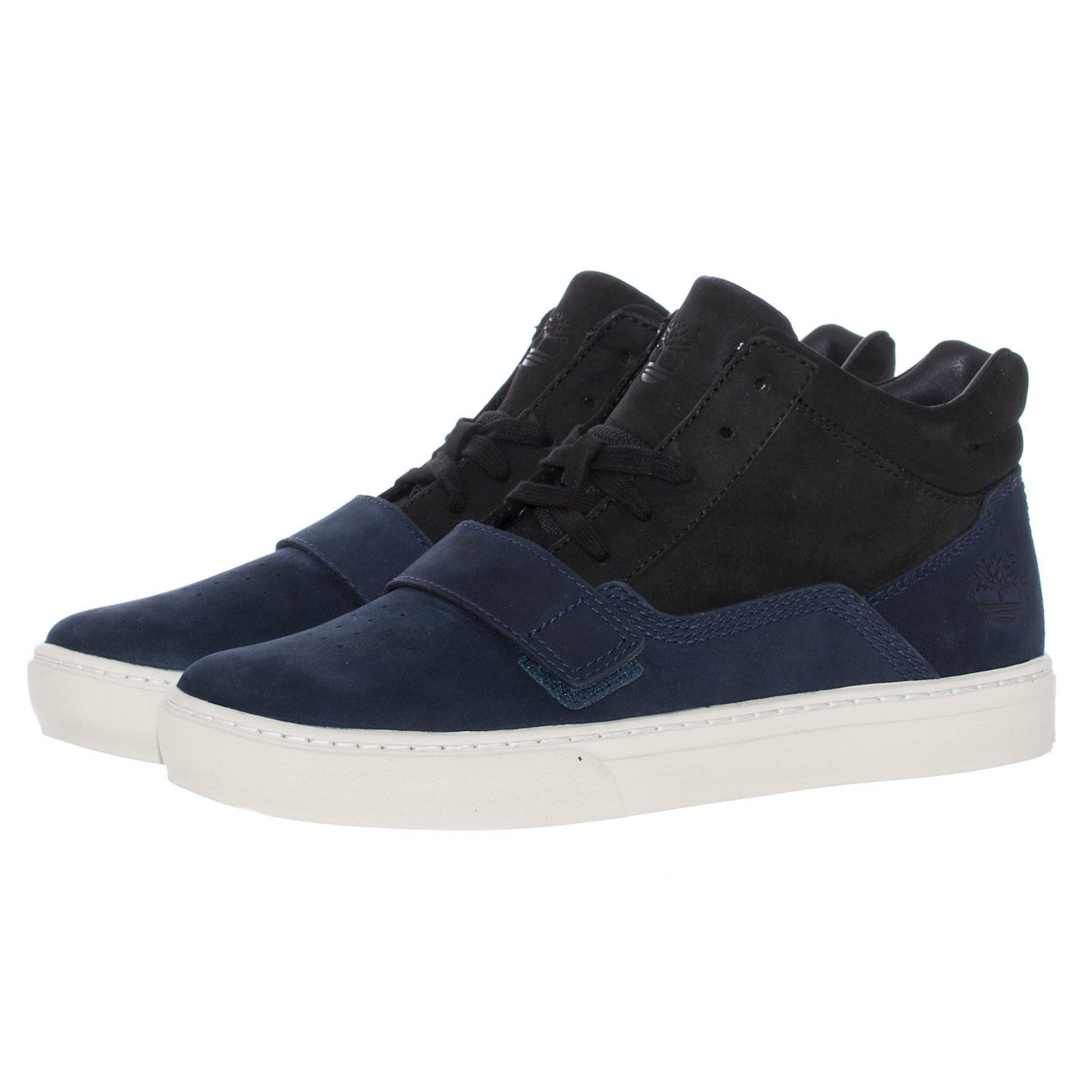 designer fashion in stock low price Timberland Mens ADV 2.0 Cupsole Black Blue Oily Leather Sneaker Shoes