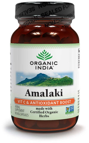 Organic India Amalaki - 60's  Capsules/Bottle