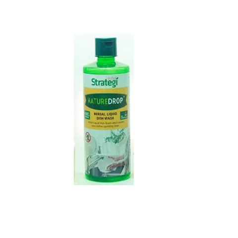 Herbal Strategi -Nature Drop- Herbal Liquid Dish Wash - 250ml