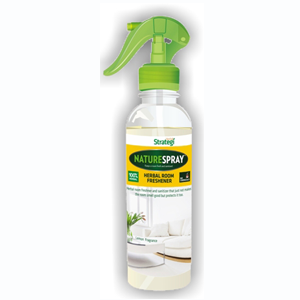 Herbal Strategi Nature Spray-Herbal Room Freshner (LEMON)  - 300ml