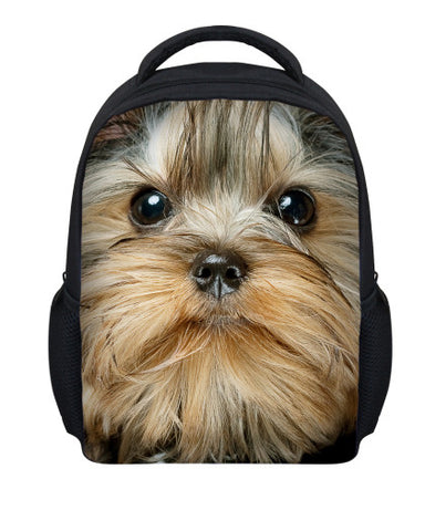 12 inch cute pet design backpack for children