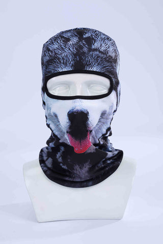 3D Cap Dog Animal Design Outdoor Ski Masks