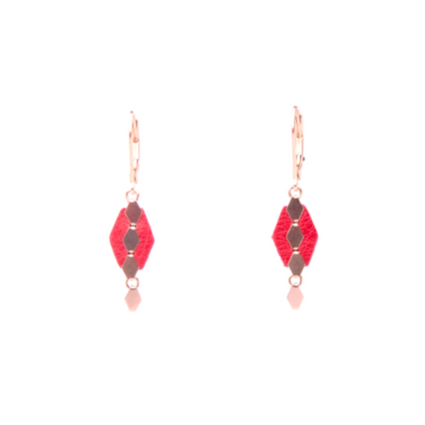 Pauline Poppy Earrings
