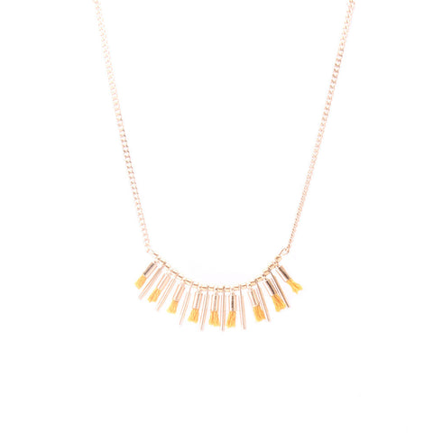 Isia Yellow Necklace