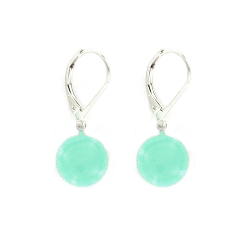 Pure Light Green Earrings