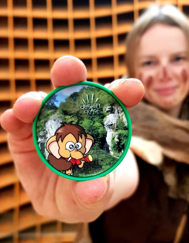 Monty in the Gorge Medallion