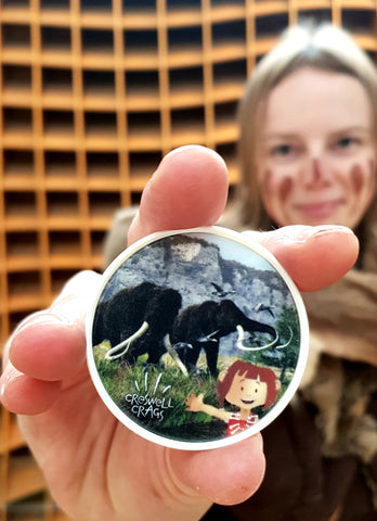 Una and the Mammoths Medallion