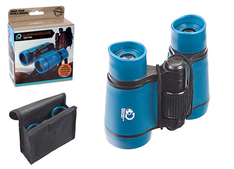 Binoculars 4x30mm with carry pouch