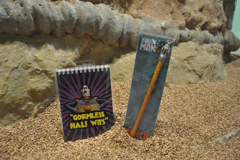 Early Man Notepad and Pencil Topper