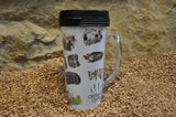 Skills of the Stone-Age Travel Mug