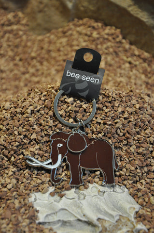Mammoth Metal Key Ring
