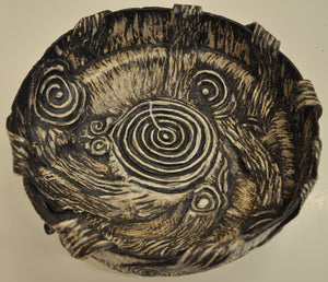 Flow Bowl with Spirals