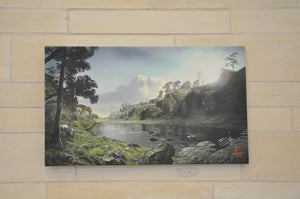 Canvas: Creswell Crags 120,000 Years Ago