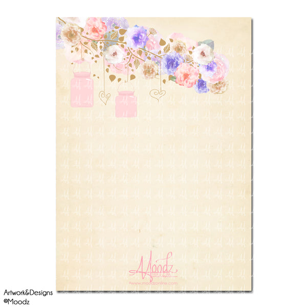Rustic Watercolor Floral