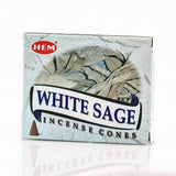 """White Sage"" Incense Cones"