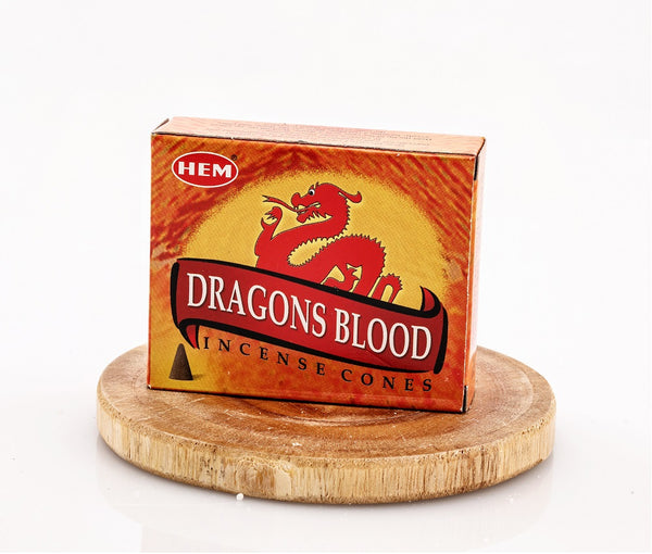 """Dragon Blood"" Incense Cones"