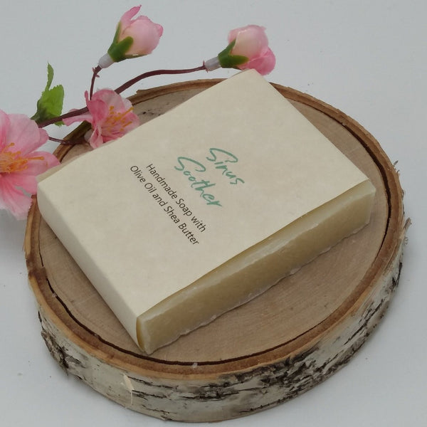 Sinus Soother Organic Handmade Soap