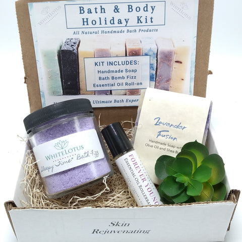 Skin Rejuvenating Bath & Body Kit