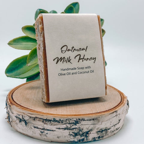 Oatmeal, Milk & Honey - Organic Handmade Soap