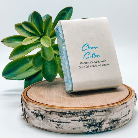 Clean Cotton - Organic Handmade Soap