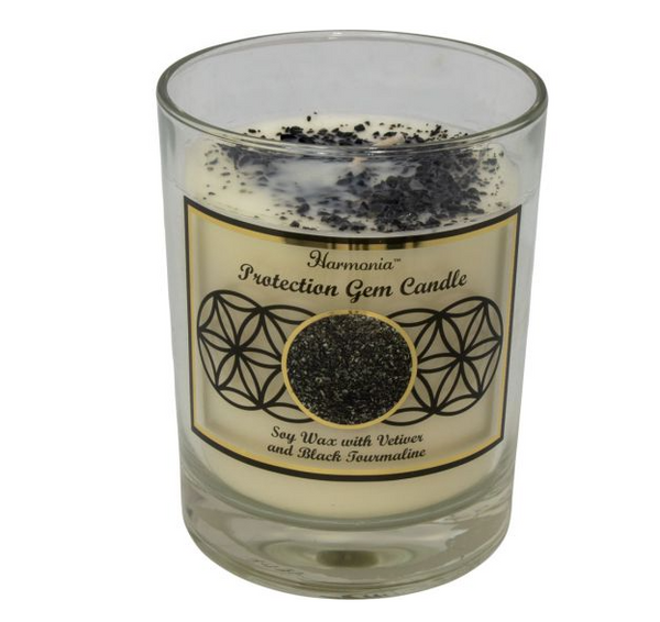 """Protection"" Gem Candle"