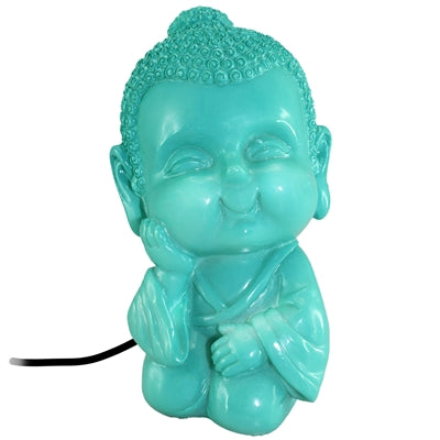 Baby Buddha LED USB Lamp: Blue