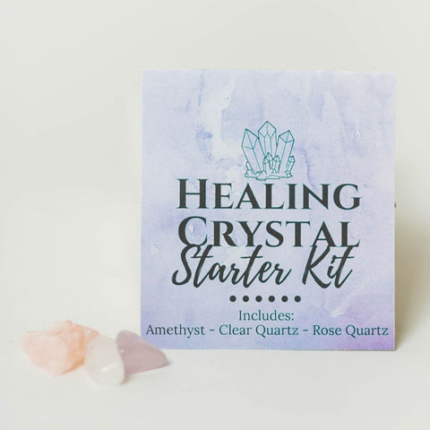 Healing Crystal Starter Kit