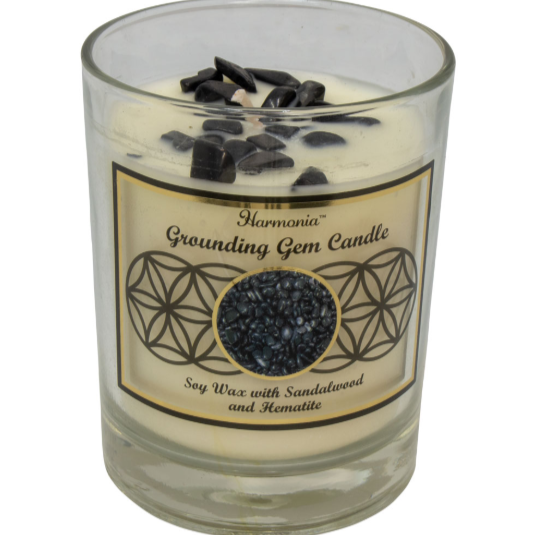 """Grounding"" Gem Candle"