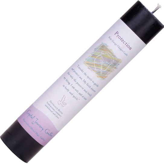 Protection- Reiki Pillar Candle