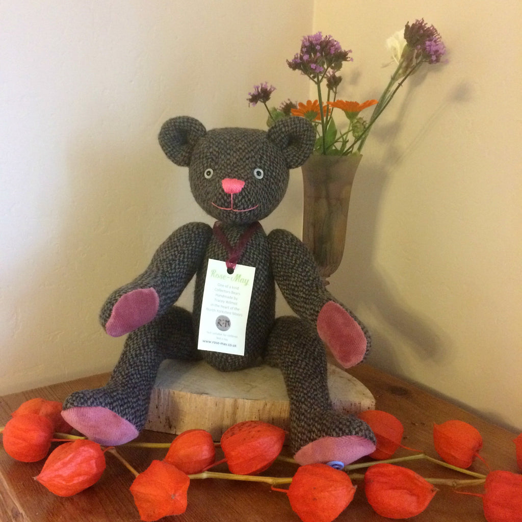 Rose-May - Handmade Artist Collectors Teddy Bear
