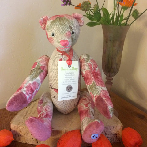 Rose-May Bears - Handmade Artist Collectors Teddy Bear