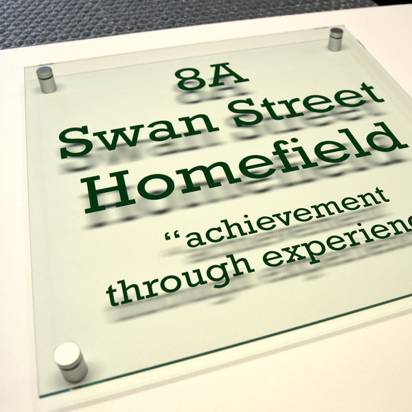 Acrylic Plaque for Homefield College