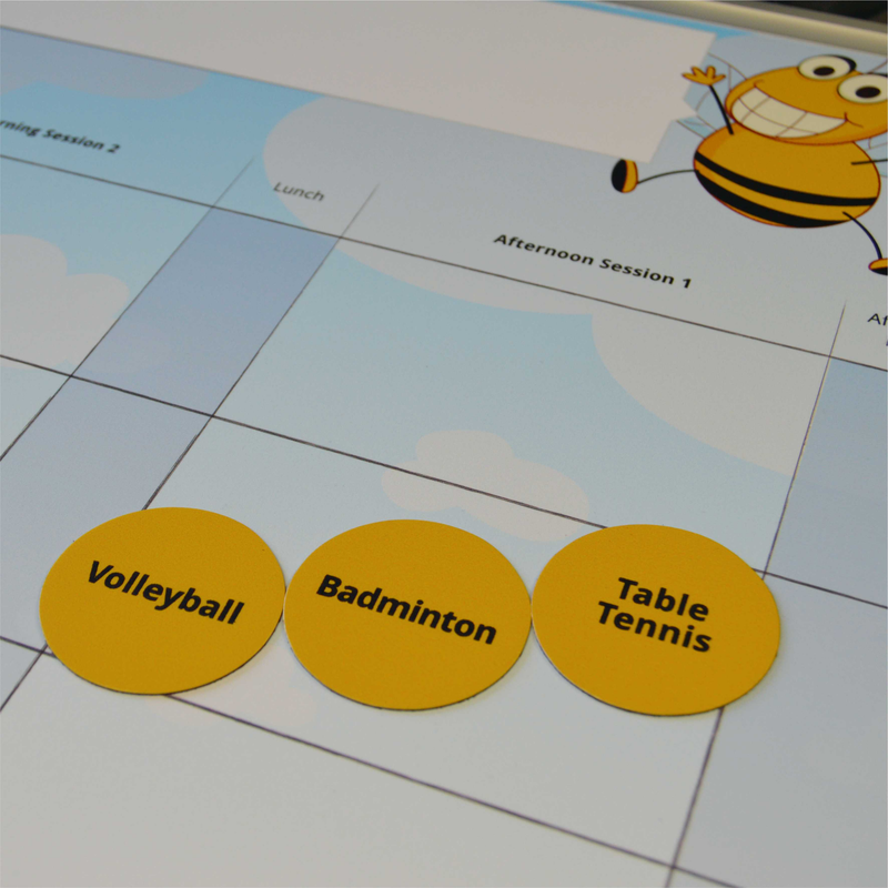 Another Bespoke Printed Whiteboard for Bee Active