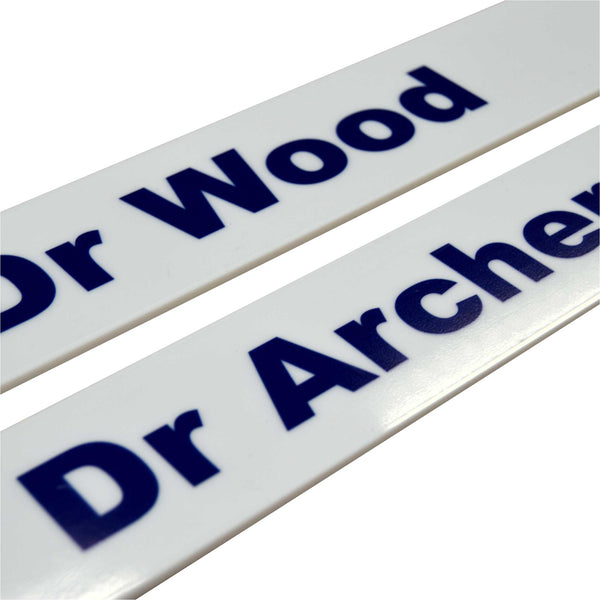 Acrylic Door Signs for a local Doctor's Surgery
