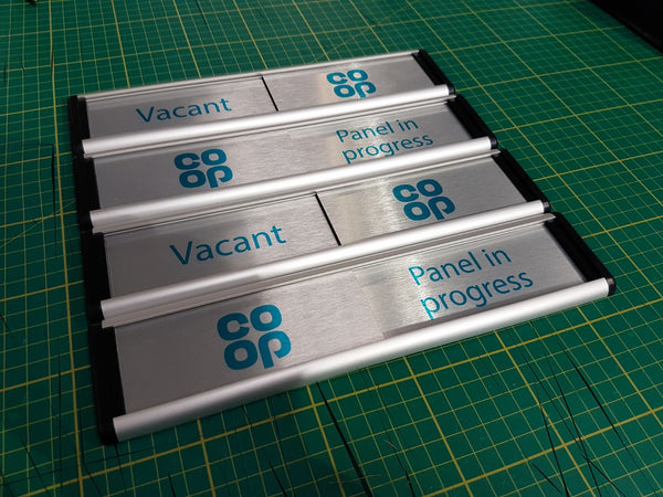 Sliding Door Signs for The Co-operative Group