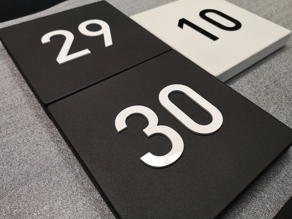Contempo House Numbers Leaving Today