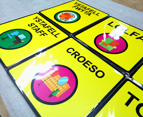 Welsh Dementia Signs for a Care Home in Llandudno!