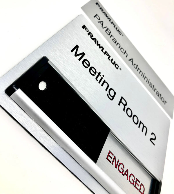 Office and Meeting Room Signs for Rawlplug UK