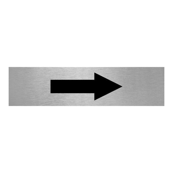 Slimline Aluminium Arrow Sign