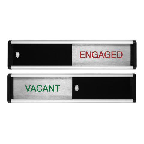 Viro Vacant/Engaged Sliding Door Sign