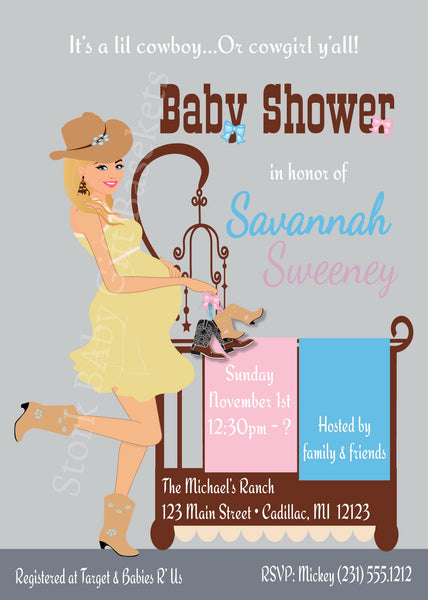 Chic & Modern Baby Shower Invitations